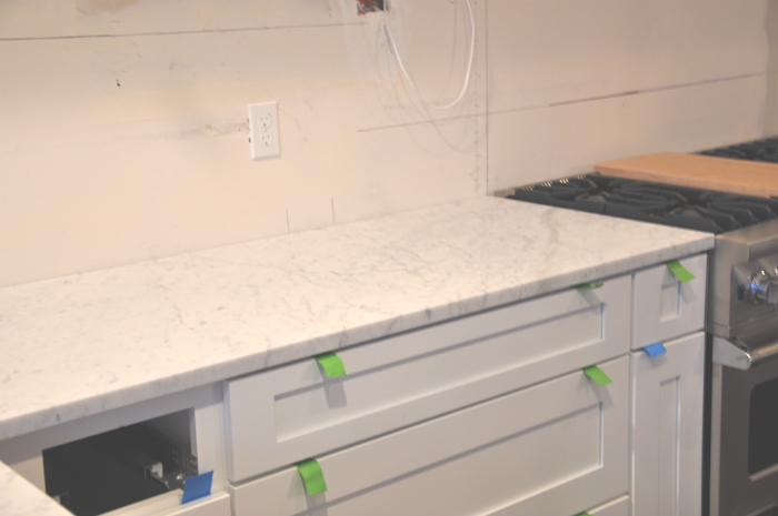 marble counter edge