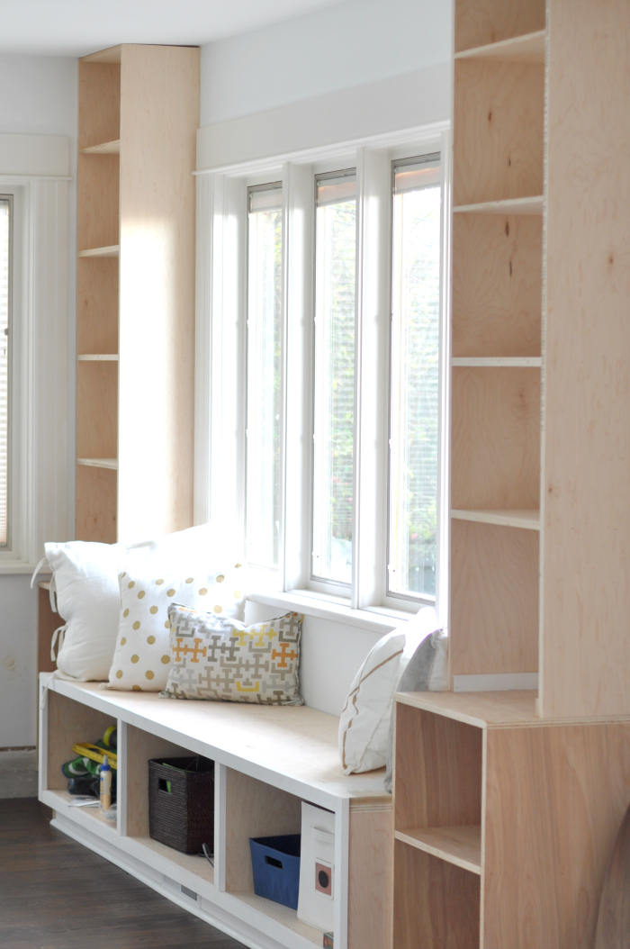 Admirable Diy Window Seat And Built Ins Projects Started House Download Free Architecture Designs Scobabritishbridgeorg