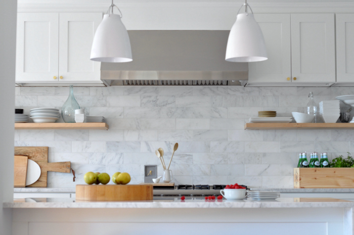 Modern White Kitchen Pendants