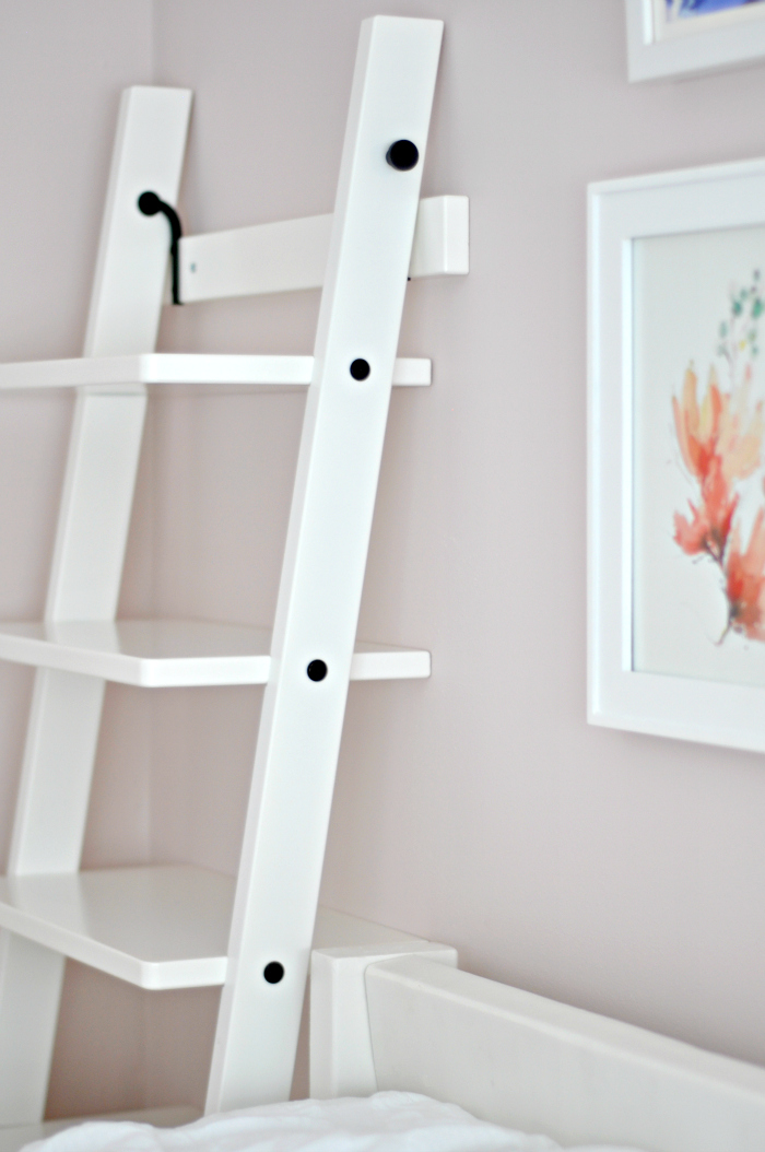 leaning ladder bookshelf