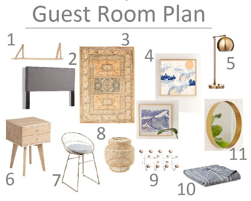 Guest Bedroom Plans House Updated