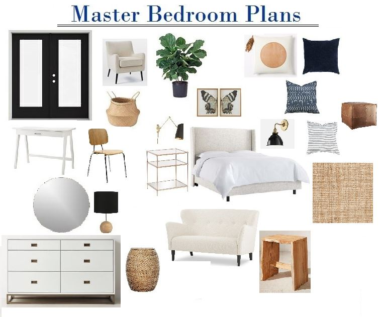 One Room Challange:  Master Bedroom – The Plan