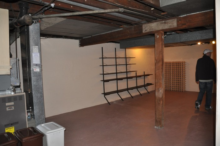 large basement area
