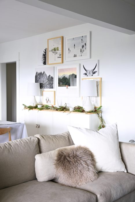 Happy Look But Wanted To Try Something New For Winter And Beyond So Reached Out Minted See About Partnering On Creating A Holiday Gallery Wall