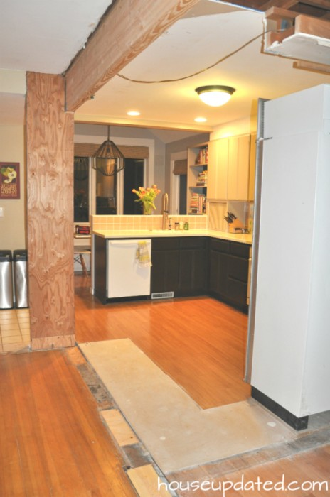 Open Walls In The Kitchen