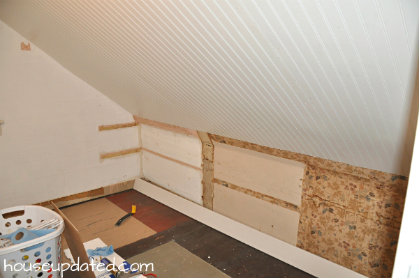 How To Install Beadboard On Walls Installing