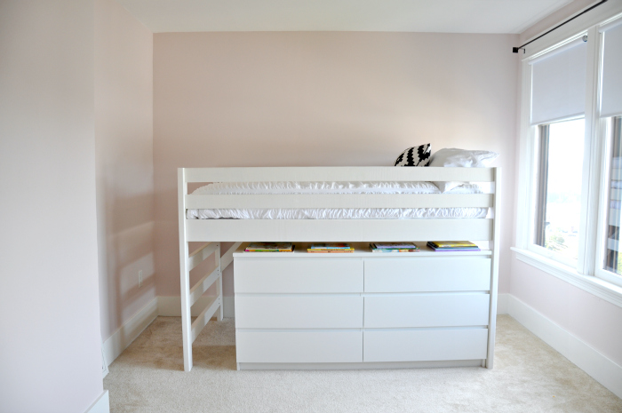 Junior Loft Bed Malm Dresser Underneath