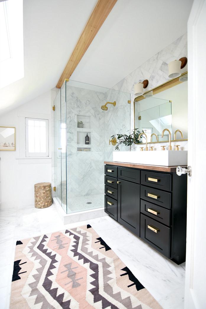 Master Bathroom Reveal One Room Challenge Spring 2017